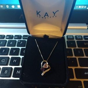 Kay Amethyst w/Diamond Accent Necklace